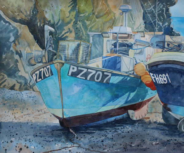 fishing boats at cadgwith 72